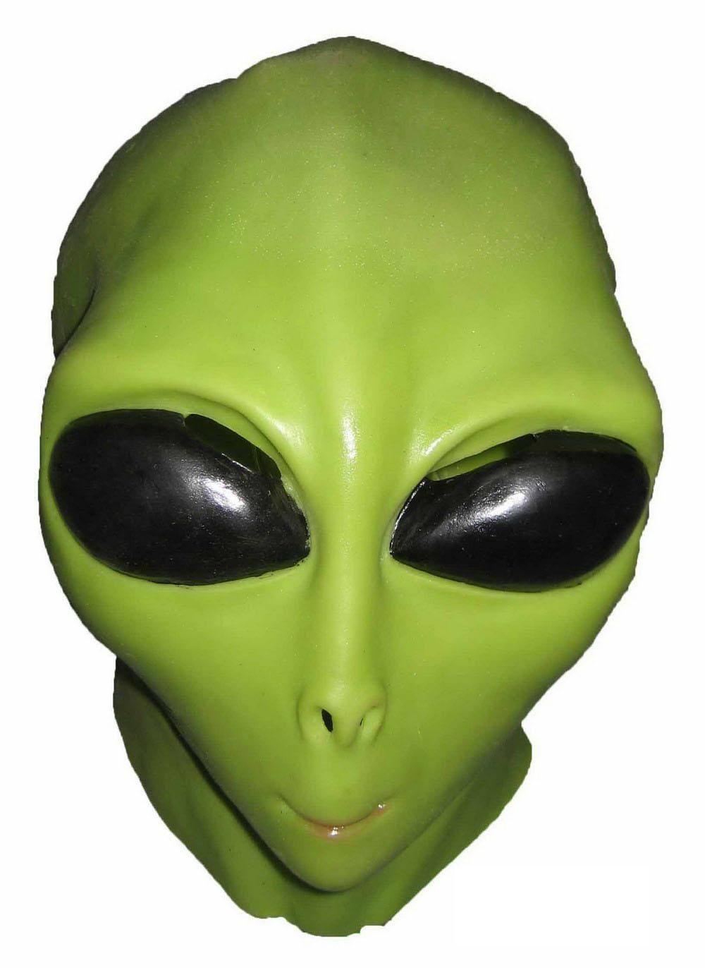 Как сделать маску инопланетяне
