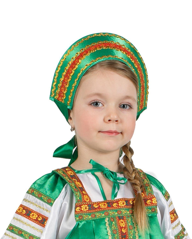 Кокошник к русскому сарафану своими руками 11